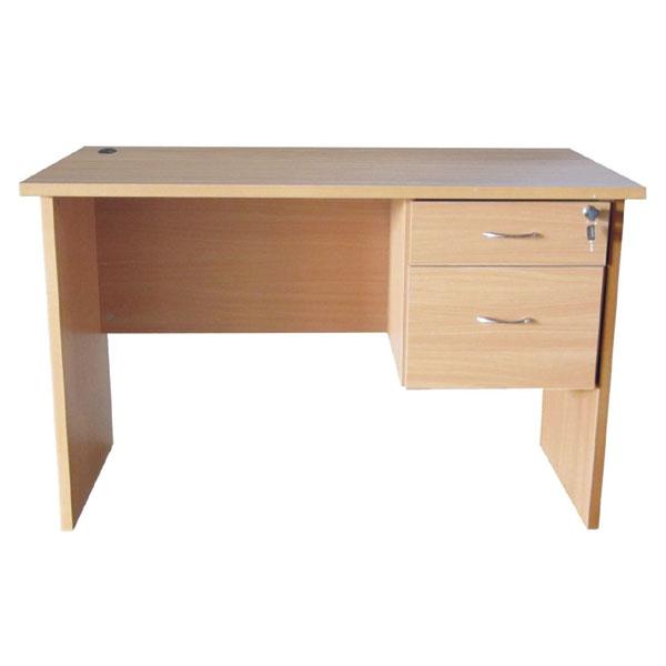Office Desk with Fix Pedestal 2 Drawer