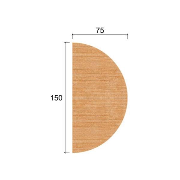 Top Table Joint Half Circle